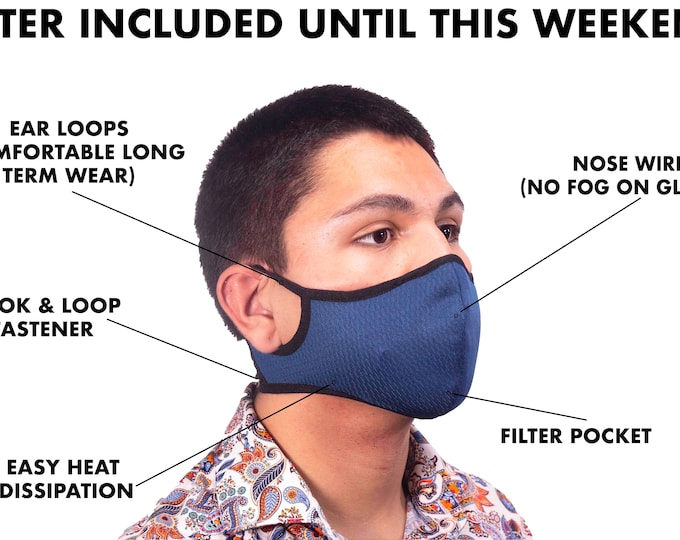 Featured listing image: ePeak Active Sports Face Mask. Washable. Multiple Colors in Women/Men Sizes. Limited Quantity!