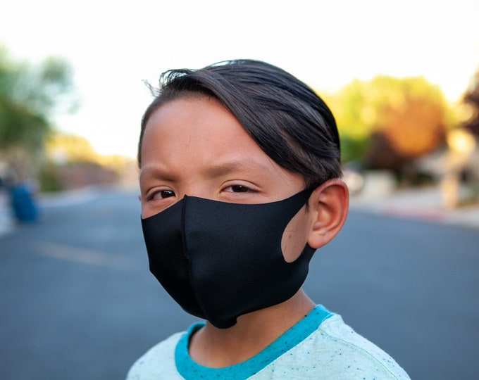 Featured listing image: UPF 50+ Kids Face Mask, Extra Small, Very Soft, Breathable And Lightweight. Easy Use S Size Mask For Kids