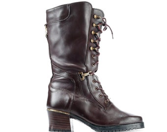 90744cb75dd Tall victorian boots | Etsy