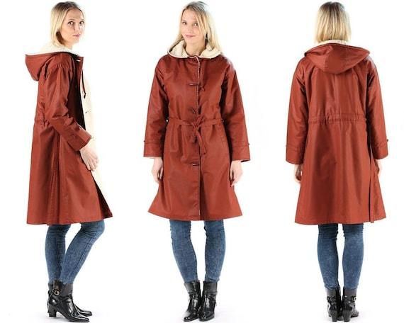 70s Trench Coat Pea Coat Shearling Duffel Coat Wom