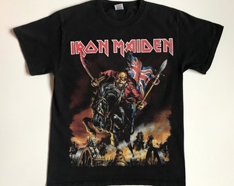 : Iron Maiden England 2013 Mens Black Pullover