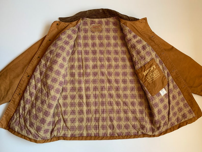 Smith/'s Workwear Vintage Men/'s Jacket Brown Size L Retro Streetwear 90/'s 80/'s