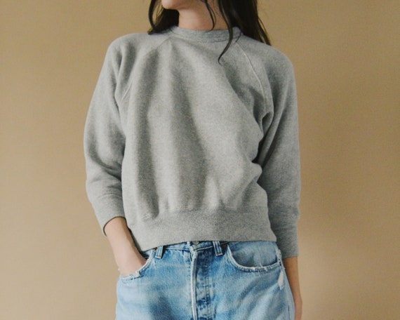 50s Raglan Crewneck Sweatshirt