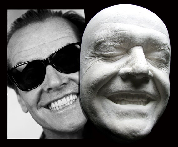 Jack Nicholson Smiling Life Mask The Shining Batman Joker As Good As It Gets