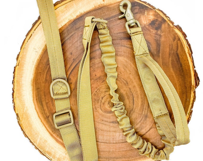 Pre-Order ~ Tan Tactical Leash