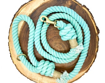 Caribbean Cotton Rope Leash