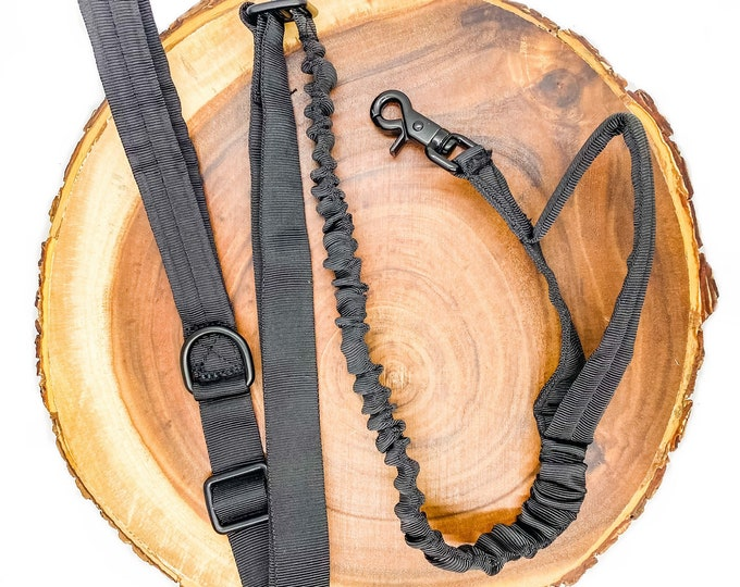 Pre-Order ~ Black Tactical Leash