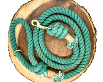 Mermaid Cotton Rope Leash