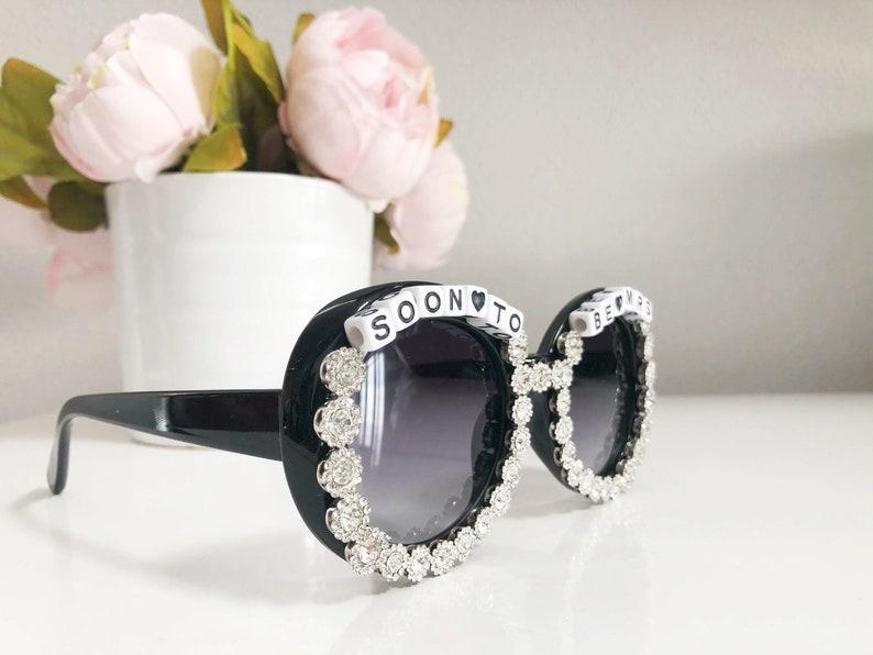 Soon To Be Mrs. Sunglasses - Handmade - Bachelorette - Wedding - Bride to Be - Bride Sunglasses