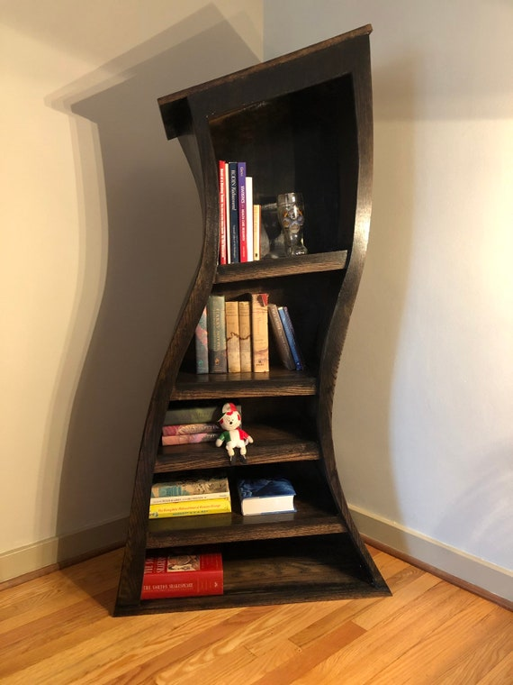 new style 4a1cb 9f607 Curved Bookcase