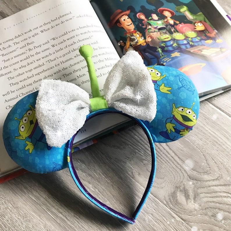 8675e1bdb Green Toy Story Alien Ears