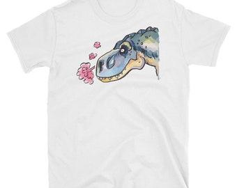 b96851ec T Rex Dinosaur T Shirt Drawing, Artistic Graphic, Hand Drawn Shirt Design,  Cool Original Art, Unique Tee, Unisex TShirt, Tyrant Bird Tshirts