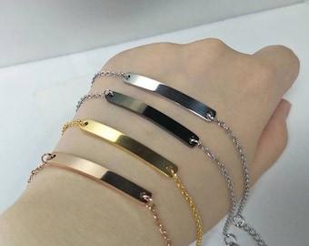 4f75396efb2 Bracelet bracelet personnalisé avec votre NOM en gravure arabe. Pour les  femmes et les hommes.