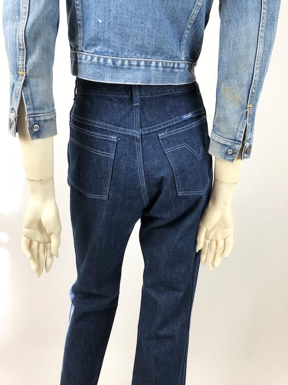 1970s Vintage Wrangler//Wrangler jeans//Vintage d… - image 5