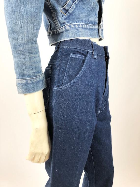 1970s Vintage Wrangler//Wrangler jeans//Vintage d… - image 4
