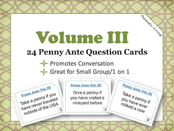 photograph about Printable Trivia for Seniors named 24 Penny Ante Marvel Trivia Playing cards Penny Ante Activity Thoughts Printable  How in direction of Perform Penny Ante Include Your self At any time