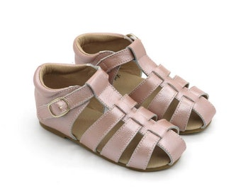 BABY SHOES sizes 3-10/ Baby shoes leather sandal (blush pink)/ Toddler shoes/ Girls shoes/ Leather baby shoes/ T bar shoes/ Baby girl