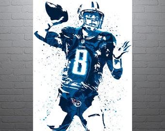 Marcus Mariota Tennessee Titans Poster 08c64c296