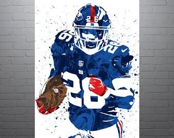 48b22209299 Saquon Barkley New York Giants Poster