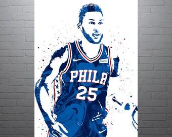 7adebd9673d Ben Simmons Philadelphia 76ers Poster