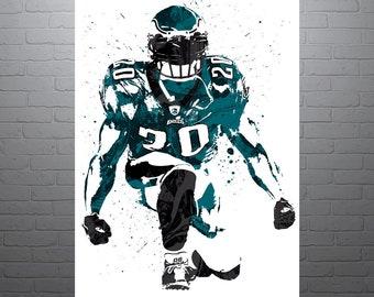 Brian Dawkins Philadelphia Eagles Poster 5ca8b8ddb