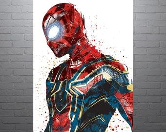 Spider Man Art Etsy