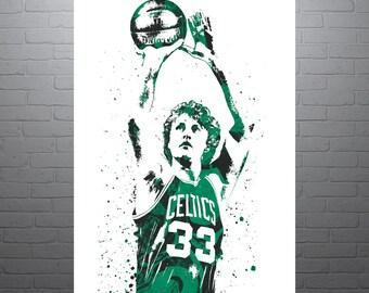 0feab1364442 Larry Bird Boston Celtics Poster