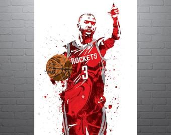 b40d69b998db Chris Paul Houston Rockets Poster