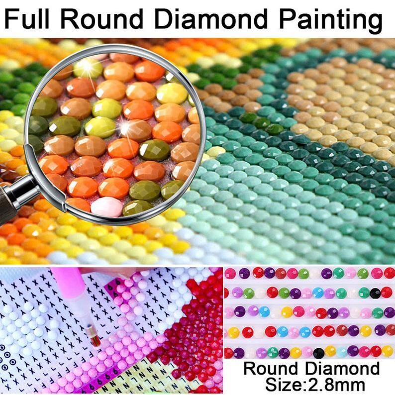 Full SquareRound Drill 5D DIY Diamond Painting Cross Stitch Angel Crystal Needlework Diamond Embroidery Wings Girl Rhinestone Room Decor