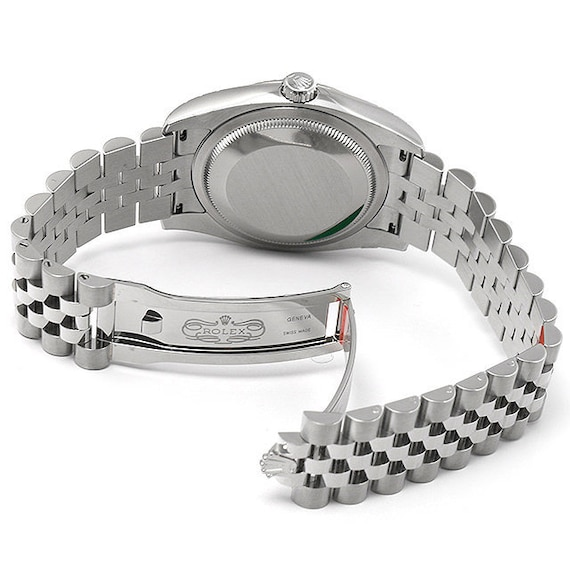 20mm Rolex jubilee solid stainless steel bracelet for Rolex gents watches  curve lugs adjustable band strap FAST SHIPPING on on sale
