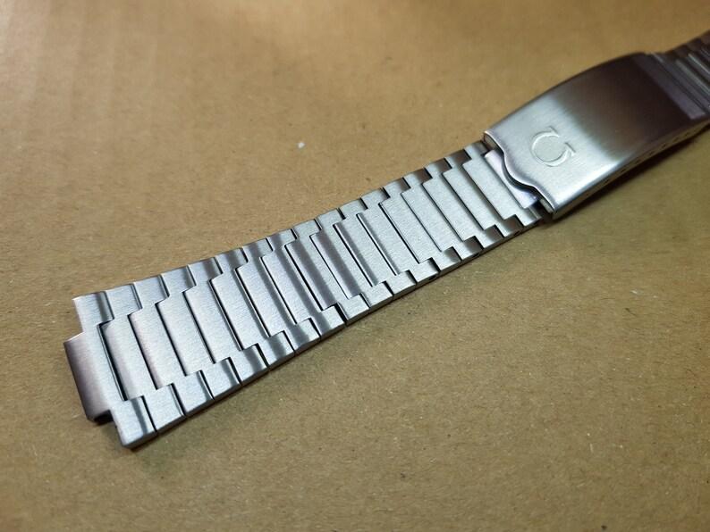 omega watch vintage seamaster watch stainless steel bracelet omega watch  bracelet strap band omega watch bracelet 1286 249