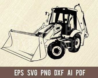 svg dxf ai png,pdf NEVER ARGUE Funny Backhoe Sign Clipart-Vector Clip Art Graphics-Digital Download-Cut Ready Files-CNC-Vinyl Design-eps
