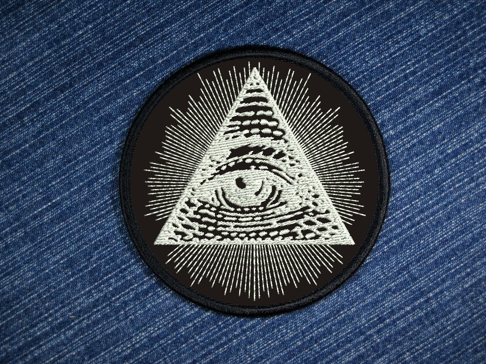 Eye Of Providence Symbol Embroidered Patch Etsy