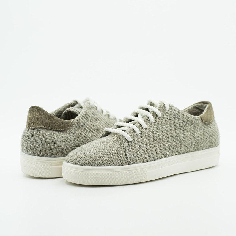 Jo Hemp Ivory Sneakers