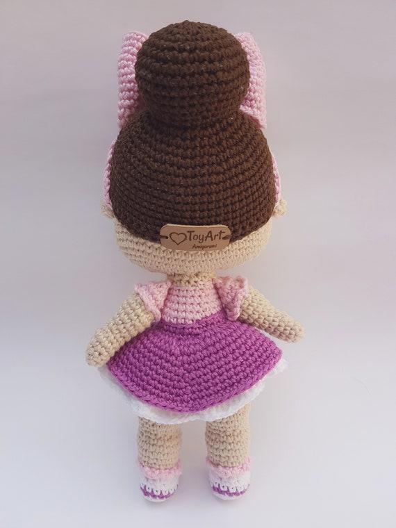 Amigurumi Crochet Rapunzel amigurumi (crocheted) – Amigurumi Patterns | 760x570