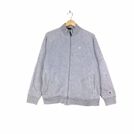 Rare!! Vintage CHAMPION Sweatshirt FULLZIPPER Smal