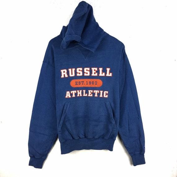Rare!! Vintage Russell Athletic Sweatshirt Hoodie