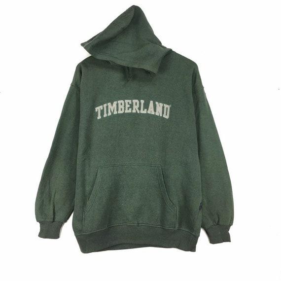 Rare!! Vintage TIMBERLAND Sweatshirt Hoodie Big Sp