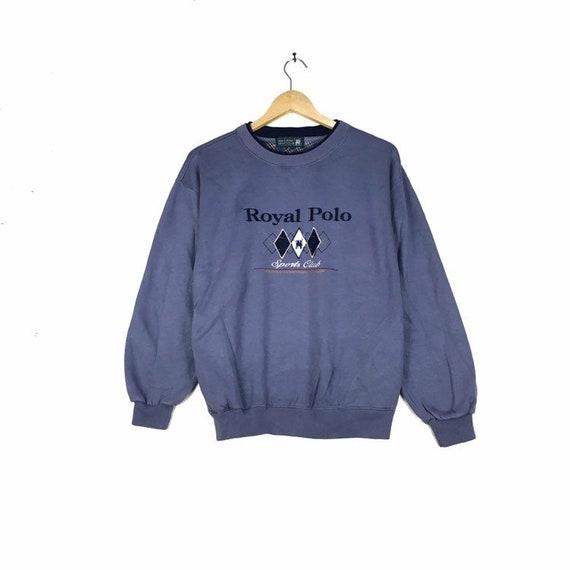 Rare Royal Classic Sweatshirt With Large Size Vintage!!