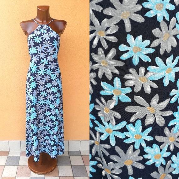 Women's summer flower power dress, gypsystyle clot