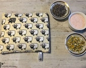 Himalayan Salt heating pad with lavender or chamomile, salt pillow, warming pad, heating bag, pain relief, aromatherapy, baby sleep/ Sópárna