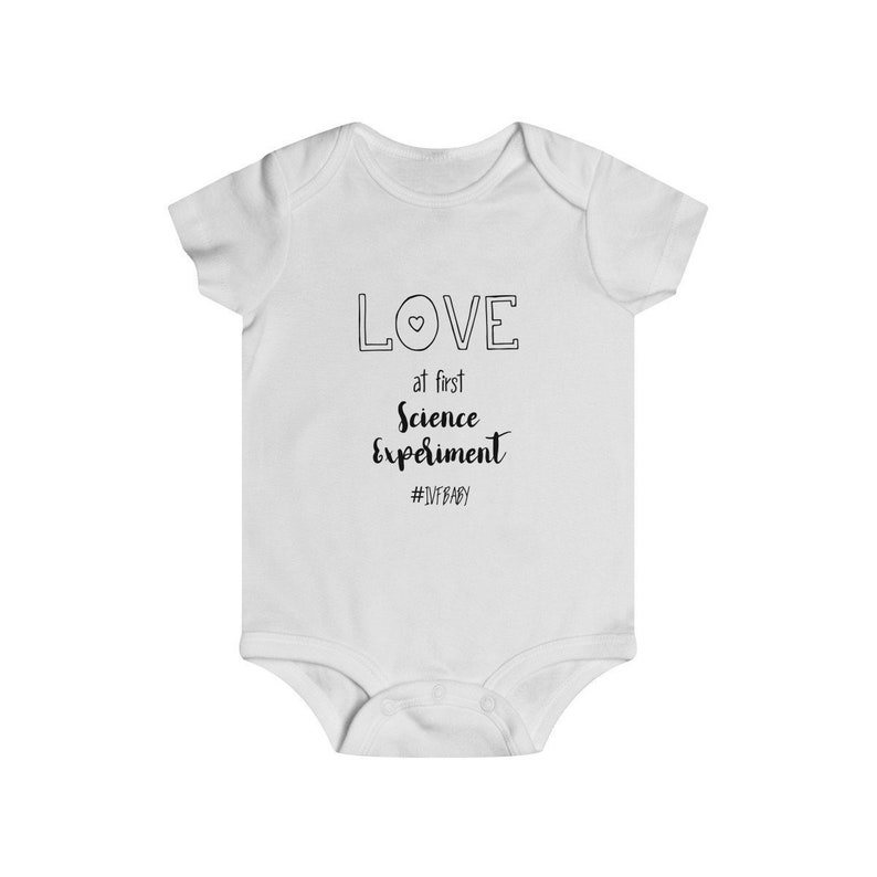 IVF Baby Pregnancy Announcement Onesie\u00ae for Baby Reveal Miracle Baby Worth the Wait Baby Shower Gift