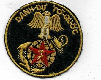 Vietnam War 23rd ARTILLERY BATT Bn Arvn Shoulder Patch Cloth Quilt Vintage Nam Div