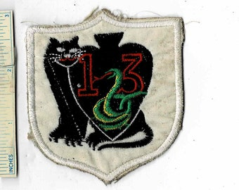 Vintage Patch Panthers 505 Blue Black Red Silver Used
