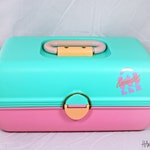 Vintage Caboodles of California Makeup Tackle Box – Plano – 1989