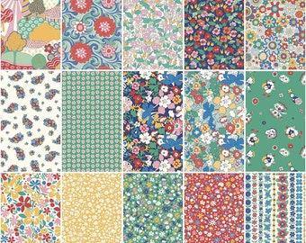 Bohemian Brights - Fat Quarter Bundle - Liberty of London - Riley Blake Designs - Fat Quarters - Quilting Cotton