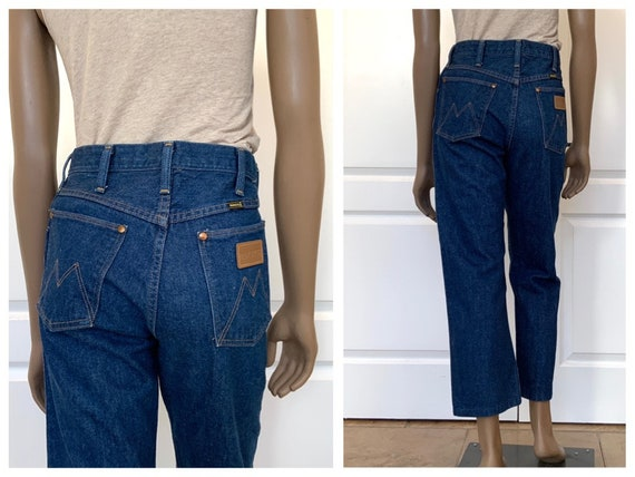 Size 29/30 Cropped Maverick Jeans, High Waisted