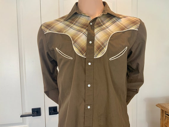 Vintage 70's Western Shirt by Outlaw Western Wear