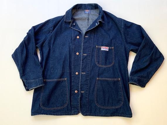 Rare 1950s Big B Brotherhood Denim Chore Jacket, M