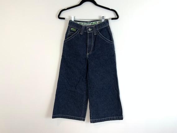Vintage JNCO Jeans, Wide Crop Denim, 90s Hip Hop J